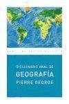 diccionario de geografía (ed. económica)(libro  historia de
