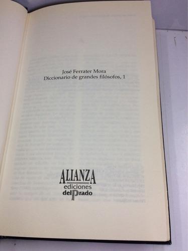 diccionario de grandes filósofos (i), josé ferrater mora