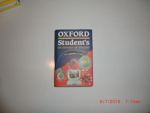 diccionario de inglés. oxford student's dictionary. con cd