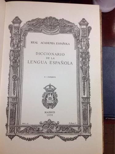 diccionario de la lengua española 19ª edición 6 tomos.