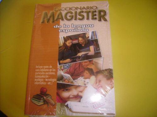 diccionario de la lengua española- magister- uso escolar