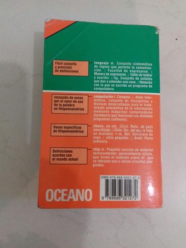 diccionario de la lengua española oceano practico