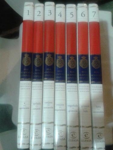 diccionario de la lengua española vigésima 2da edición