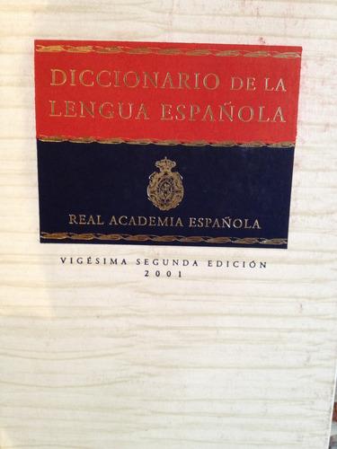 diccionario de la lengua española/vigésimo segunda edicio
