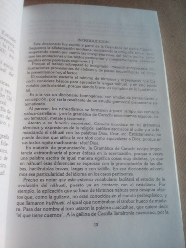 diccionario de la lengua náhuatl
