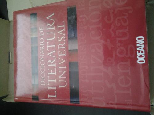diccionario de la literatura universal con cd oceano