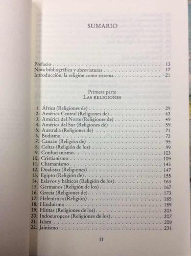 diccionario de las religiones. mircea eliade. paidós