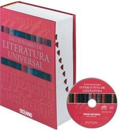 diccionario de literatura universal.océano.