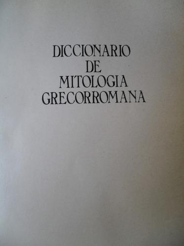 diccionario de mitología grecorromana