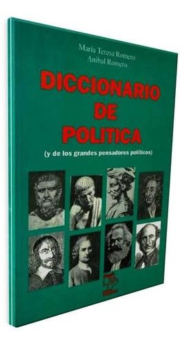 diccionario de politica maqria teresa romero