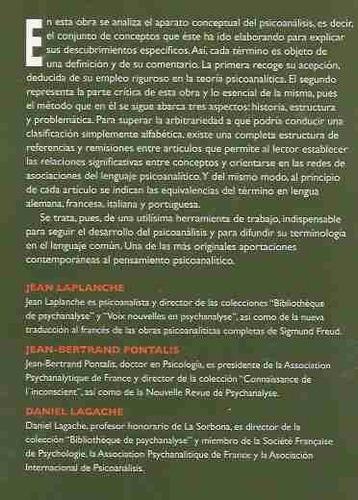 diccionario de psicoanálisis j. laplanche / j.-b. pontalis