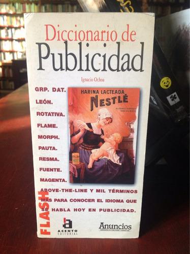 diccionario de publicidad. ignacio ochoa