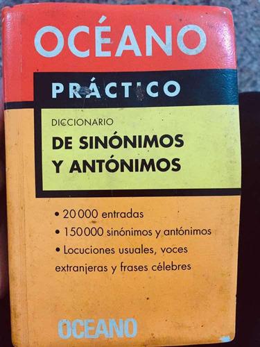 diccionario de si onions y antónimos oceano