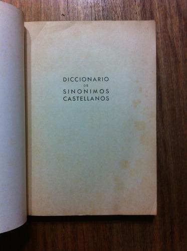 diccionario de sinónimos castellanos - antiguo año 1974