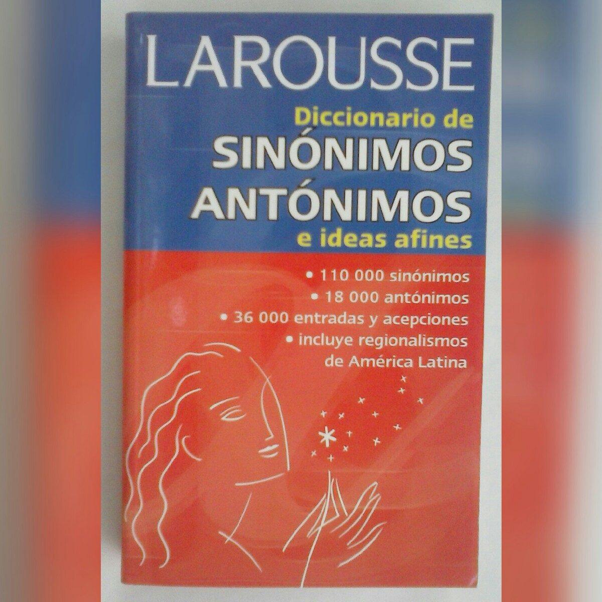 Diccionario De Sinonimos Y Antonimos - Bs. 1.480.000,00 en ... - photo#34