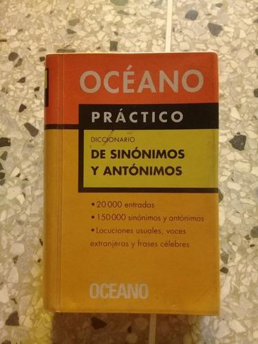 diccionario de sinónimos y antonimos. editorial oceano.