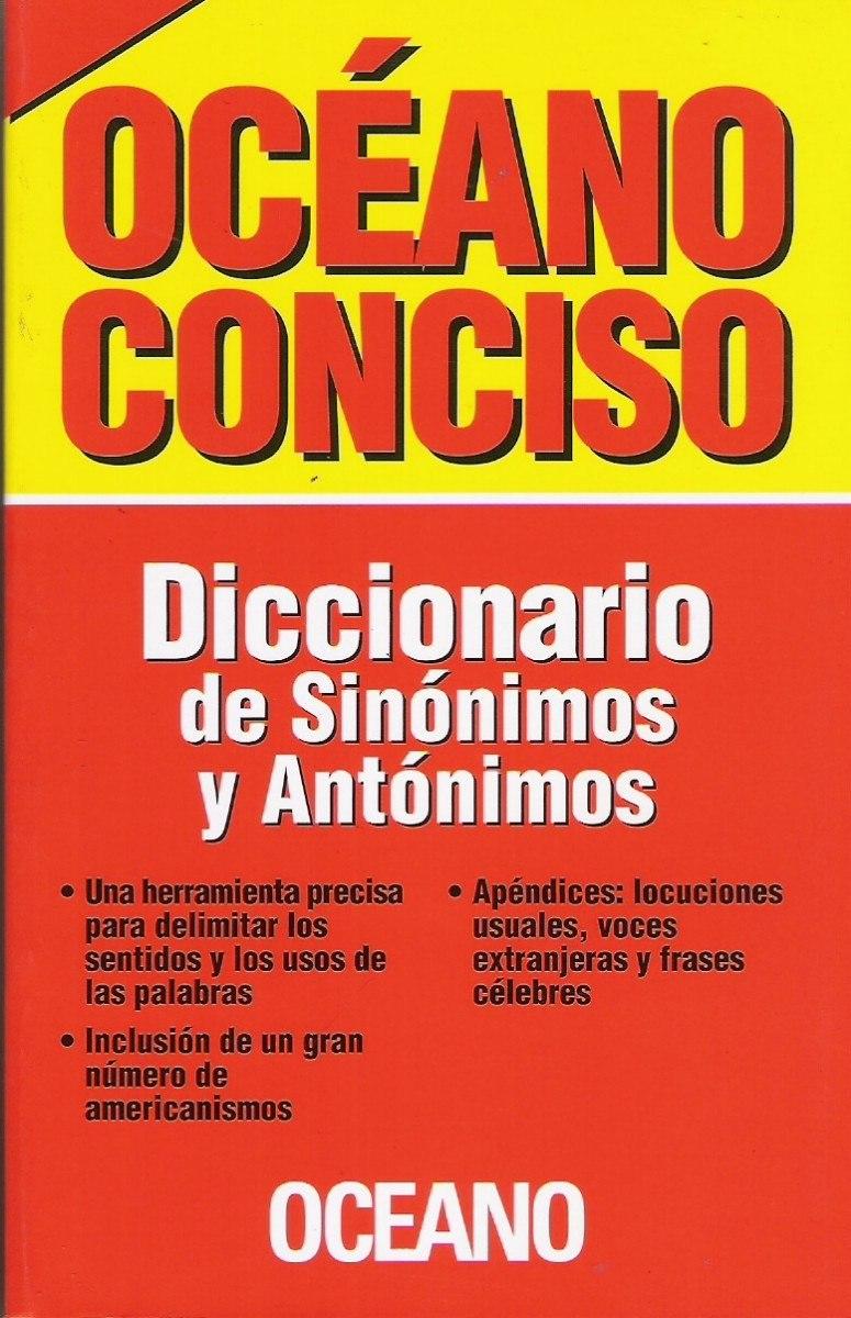 Diccionario De Sinónimos Y Antónimos Océano - $ 50,00 en ... - photo#7