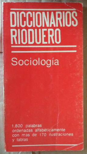 diccionario de sociología rioduero cpx030
