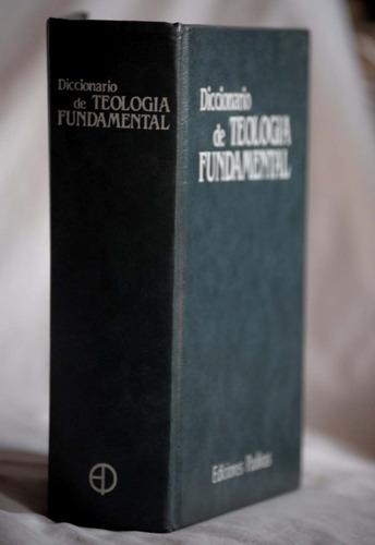 diccionario de teologia fundamental religion etica religion