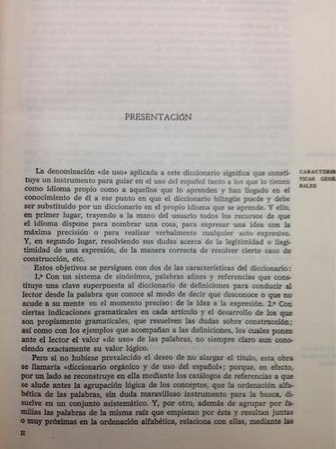 diccionario de uso del español, maría moliner, 2 vol. gredos