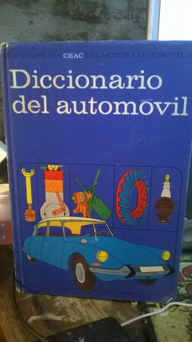 diccionario del automóvil,ceac