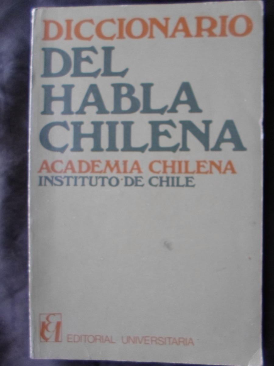Resultado de imagen para Diccionario del habla chilena