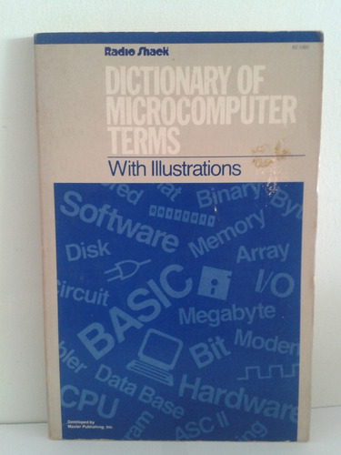 diccionario - dictionary of microcomputer terms - usado