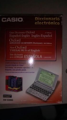 diccionario electronico casio. ew-s2000
