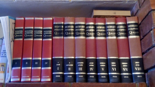 diccionario enciclopeadia quillet 12 tomos