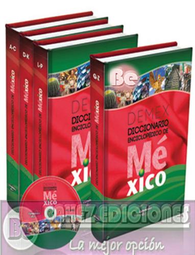 diccionario enciclopedico de mexico  demex  4t cd euromexico