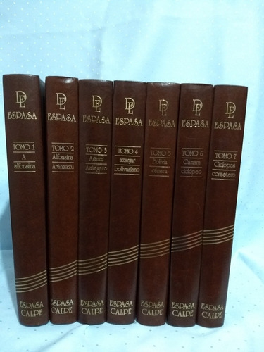 diccionario enciclopédico espasa 24 tomos en buen estado