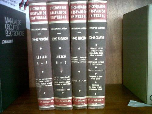 diccionario enciclopedico hispanico universal