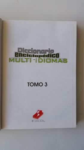 diccionario enciclopèdico  idioma multi-idiomas 5