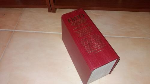 diccionario enciclopedico ilustrado exito