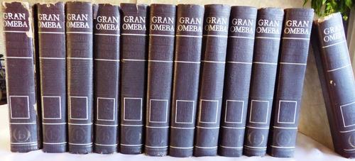 diccionario enciclopédico ilustrado - gran omeba - 12 tomos