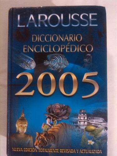 diccionario enciclopédico larousse año 2005 incluye cd