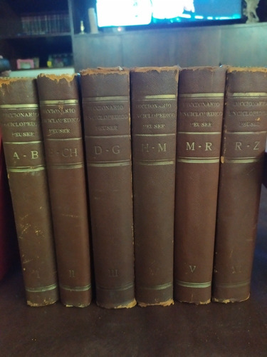 diccionario enciclopédico peuser