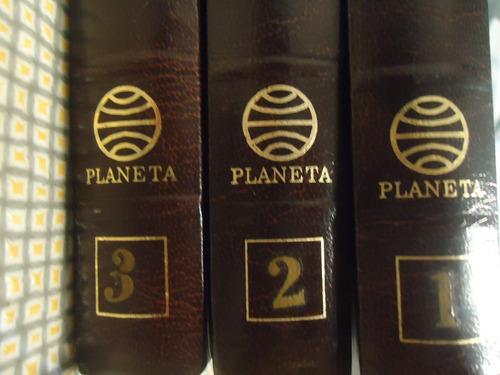 diccionario enciclopedico planeta la nacion 3 tomos