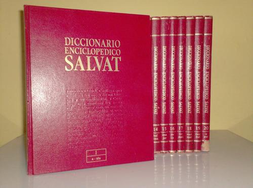 diccionario enciclopedico salvat - 20 tomos