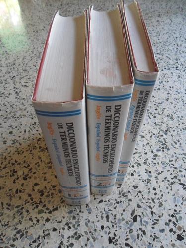 diccionario enciclopédico términos técnicos.ingles-español