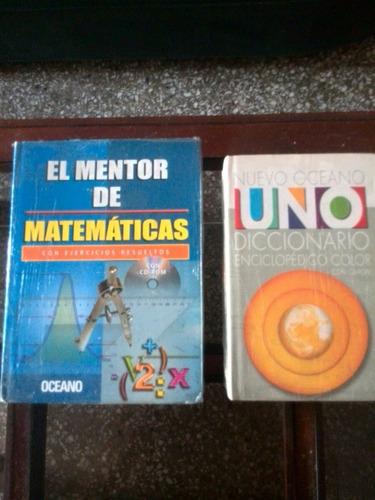 diccionario enciclopédico y mentor de las matemáticas con cd