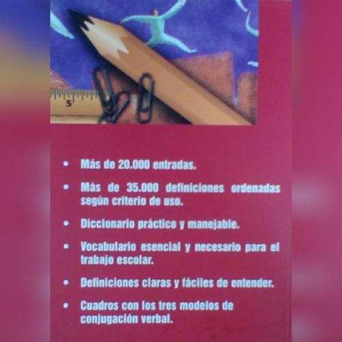 diccionario escolar de la lengua española lux