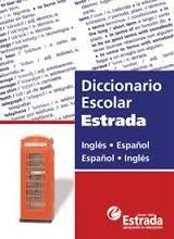 diccionario escolar estrada ingles español - español ingles