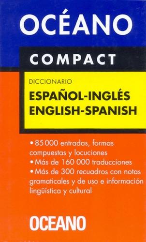 diccionario español inglés english spanish - océano compact