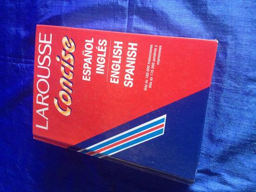 diccionario español - ingles larousse concise
