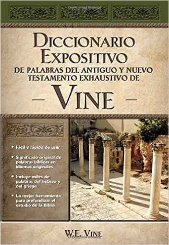 diccionario expositivo y exhaustivo de vine