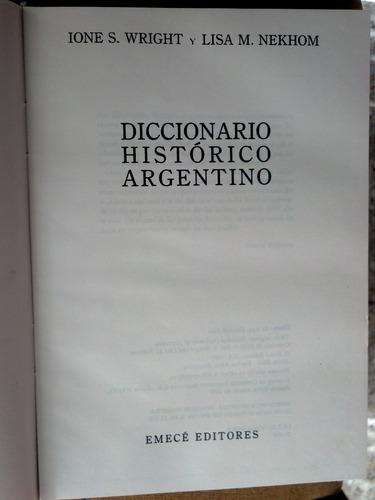 diccionario historico argentino