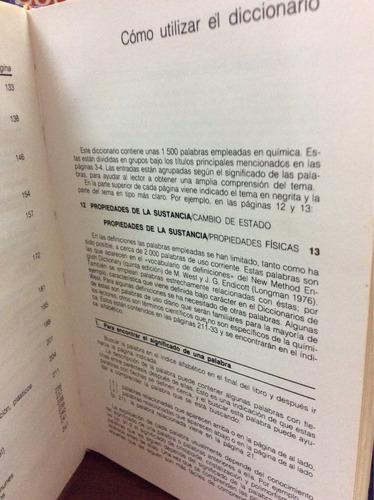 diccionario ilustrado de la química - arthur godman