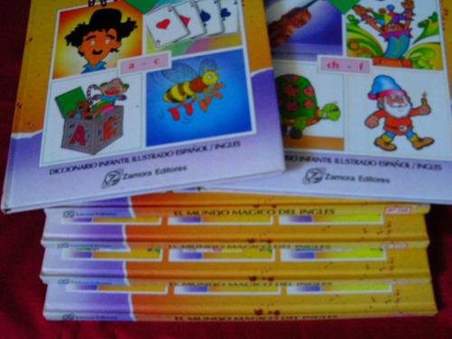diccionario infantil ilustrado el mundo mágico del inglés