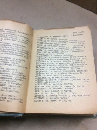 diccionario- ingles castellano y castellano ingles. parvus